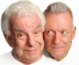 Barry Cryer and Ronnie Golden